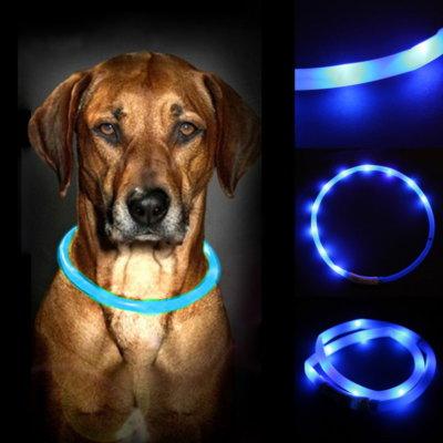 Pet-LED-Collar-Band-Belt-font-b-Waterproof-b-font-Adjustable-Rechargeable-USB-LED-Belt-Flashing